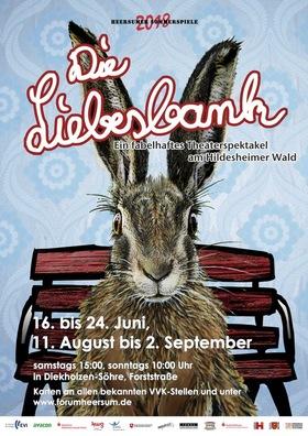 Bild: Die Liebesbank - Ein fabelhaftes Theaterspektakel am Hildesheimer Wald