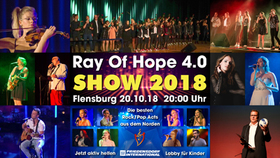 Bild: Ray Of Hope - Sensationelles Live-Show-Event in Flensburg
