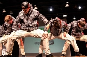 Bild: Dance Delight Germany - HipHop Show Contest   Ltg. Takao Baba