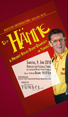Bild: De Hämme und Helmut Dolds Dixie-Quartett in Tunsel - Open Air