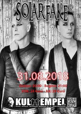 Bild: SOLAR FAKE Album Release Konzert
