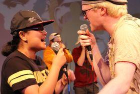 Bild: Was auf die Ohren - die Thikwa-Beatbox-Battle