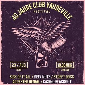 Bild: 40 Jahre Club Vaudeville Festival