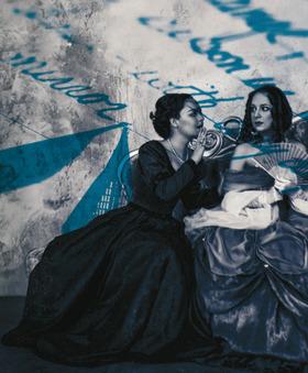 Bild: Die lustigen Weiber von Windsor - Theater Trier
