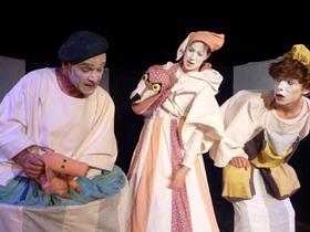 Bild: Der Wolf und die drei kleinen Schweine - Puppentheater ECKstein