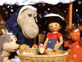 Bild: Kindertheater - Der kleine König feiert Weihnachten