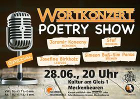 Bild: Wortkonzert - Spezial - Poetry Show im