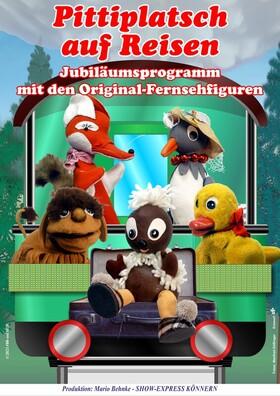 Bild: Pittiplatsch und seine Freunde - mit den Original Fernsehfiguren