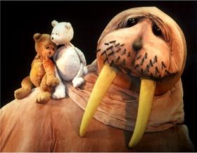 Bild: Der kleine Eisbär - Figurentheater Ute Kahmann