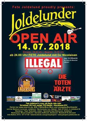 Bild: Joldelunder Open Air 2018 - ILLEGAL 2001, Die Toten Ärzte und Die Andersons