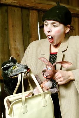Bild: Vom Wolf und dem mutigen Hasen - Dorftheater Siemitz