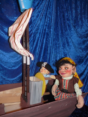 Bild: Lustig ist das Piratenleben - Schnuppe-Figurentheater