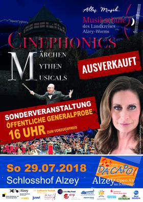 """Bild: Cinephonics – """"Die Generalprobe"""" - Open Air im Schlosshof Alzey"""