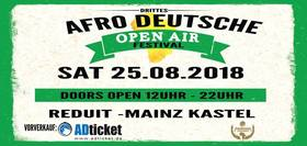 Bild: 3rd Afro Deutsches Open Air