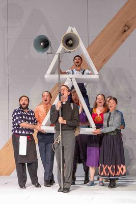 Bild: Andorra - Theater Paderborn