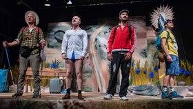 Bild: Wir sind mal kurz weg - Theater Paderborn