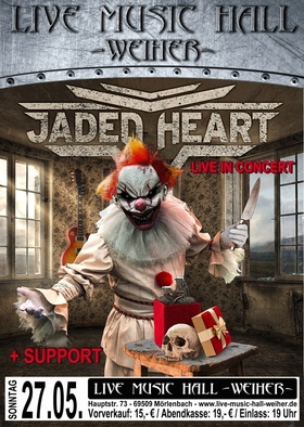 Bild: Jaded Heart + Devil`s Gift Tour 2018 - Support: Ivanhoe