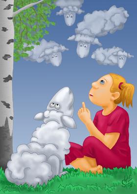 Bild: Das Wolkenschaf - Schnuppe-Figurentheater