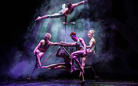 Sonics in Duum - Musikalisch-poetische Akrobatik-Show