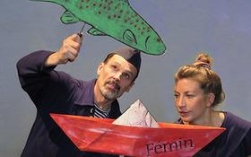 Bild: Schiffchens große Fahrt -  Fliegendes Theater