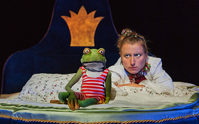 Bild: Froschkönig - Puppentheater Magdeburg