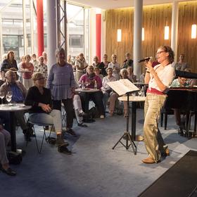 Bild: Café Vokal - Mitsingabend mit Kerstin Brix und Yorgos Ziavras