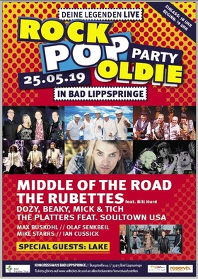 Bild: ROCK-POP-OLDIE-PARTY - Deine Legenden LIVE in Bad Lippspringe