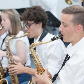 Bild: Big Band-Konzert - der Hebel-Big Band und der Porsche-Big Band