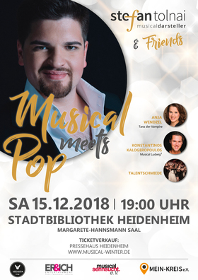 Bild: Stefan Tolnai & Friends - Musical meets Pop