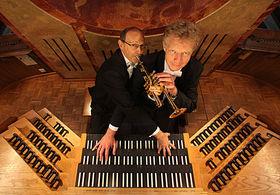 Bild: Festliches Weihnachtskonzert für Trompete und Orgel