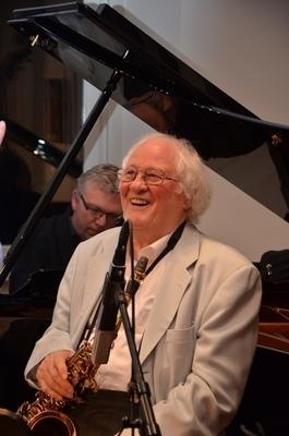 Zum 195. Mal Jazz mit dem Emil Mangelsdorff Quartett und einem besonderen Gast