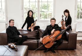 Bild: Minguet Quartett - Ruzicka: 7. Streichquartett; Beethoven: Streichquartett op. 131