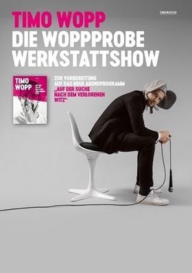 Bild: Die Woppprobe (Werkstattshow) - Timo Wopp