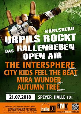 Bild: Hallenbeben Open Air - The Intersphere – City Kids Feel The Beat – Mira Wunder – Autumn Tree