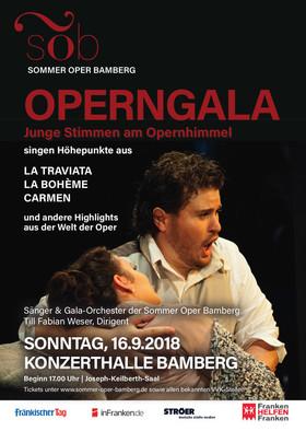 Bild: Sommer Oper Bamberg - Operngala - Junge Stimmen am Opernhimmel