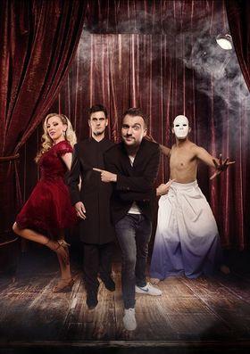 Bild: Die Magier 2.0 - Vier Magier-Charaktere