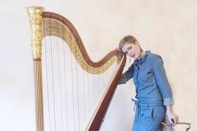 Bild: Konzert für Harfe solo: Agnès Clément - 1. Preis Int. ARD-Wettbewerb 2016
