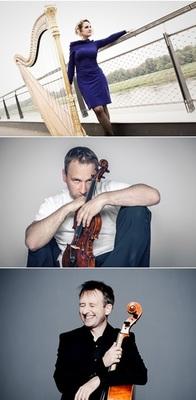 Bild: Konzert für Harfe, Violine und Cello - Freies Ensemble Dresden
