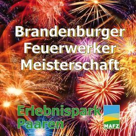 Bild: Brandenburger Feuerwerker-Meisterschaft - ...der Himmel wird bunt