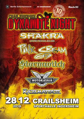Bild: 10. Crailsheimer Dynamite Night - Pink Cream 69, Stormwitch, Motojesus, Razzmattazz, and one more …