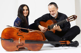 Bild: Duo Burstein & Legnani - Klassik und Weltmusik für Cello & Gitarre