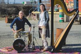 Bild: Jeanine Vahldiek Band - - Die Band mit der Harfe -