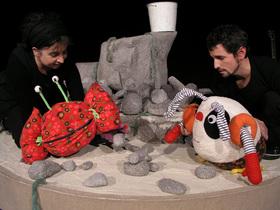 Bild: Das Meerdings - Figurentheater ab 4 Jahren. Nach einer Erzählung von Russel Hoban