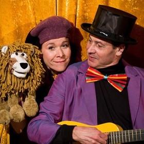 Bild: Der Löwe lacht - Christof und Vladi Altmann