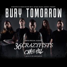 BURY TOMORROW - plus Special Guests