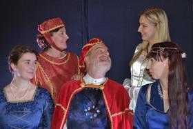 Bild: Die Gänsehirtin am Brunnen - Grimm`sches Singspiel für große und kleine Kinder