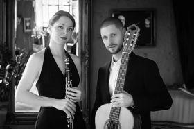 Bild: Klezmer, Tango, Jazz und die Sehnsucht nach dem Mond - Konzert mit Beatrix Becker und Benjamin Doppscher