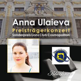 Bild: Lions Preisträgerkonzert Anna Ulaieva - präsentiert von Lions Club Cosmopolitan