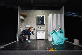 Bild: Tür zu - Objekttheater
