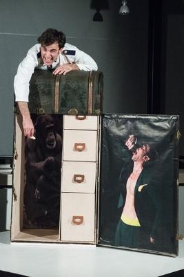 Bild: Ein Bericht für eine Akademie - Nach Franz Kafka - Im Rahmen der 10. Weißenfelser Theatertage